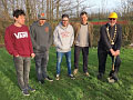 Ground Broken on New Skatepark Site