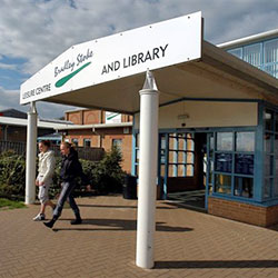 Photo of Bradley Stoke Library entrance