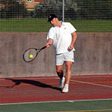Playing Tennis in Bradley Stoke