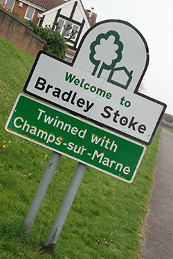 Bradley Stoke is Twinned with Champs sur Marne