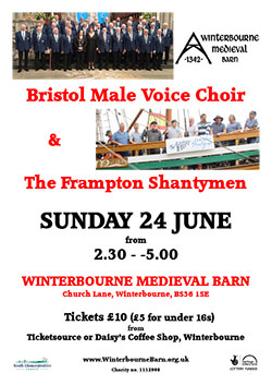 Bristol Male Voice Choir & Frampton Shantymen