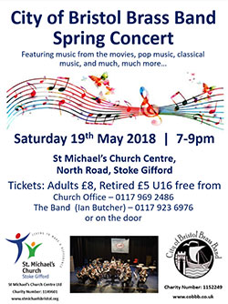 City of Bristol Brass Band Spring Concert