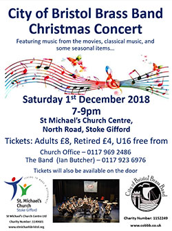 City of Bristol Brass Band Christmas Concert