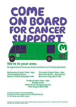 Come on board for Cancer Support