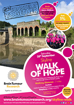 Skyline Walk of Hope in aid of Brain Tumour Research