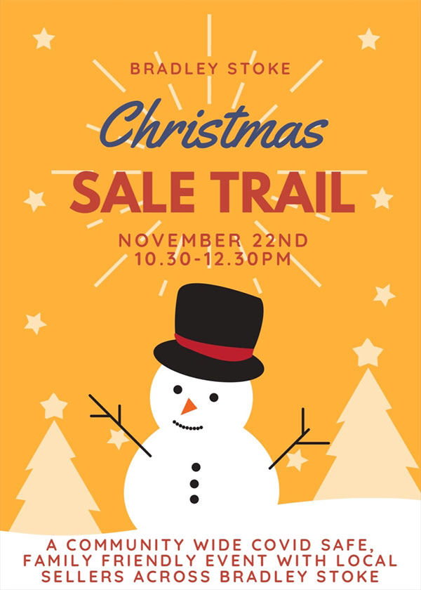 Christmas Sale Trail poster
