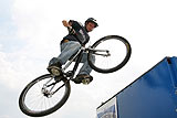 High Jump On A Bike