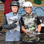 BMX 12 & under: Harvey Holland (12) 2nd; Cody Abraham (10) 1st