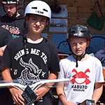 Scooter 13 to 16 yrs: Jacob Venning (14) 1st; Ollie Edwards (13) 2nd