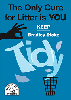 'Keep Bradley Stoke Tidy' campaign poster