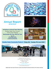 Bradley Stoke Town Council Annual Report 2019/2020 Front Cover