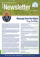 Bradley Stoke Town Council July 2020 Newsletter Front Cover
