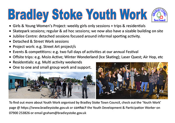 Bradley Stoke Youth Work poster